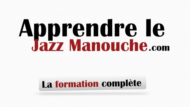 image formation jazz manouche