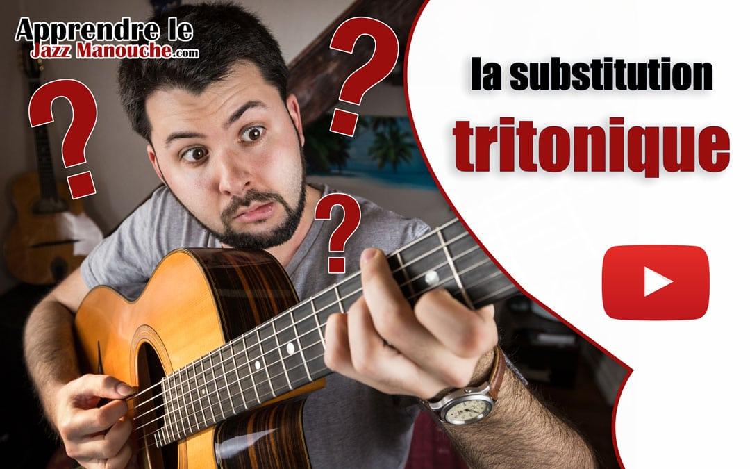 La substitution tritonique c'est quoi ?