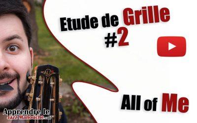 Étude de grille #2 – All of Me