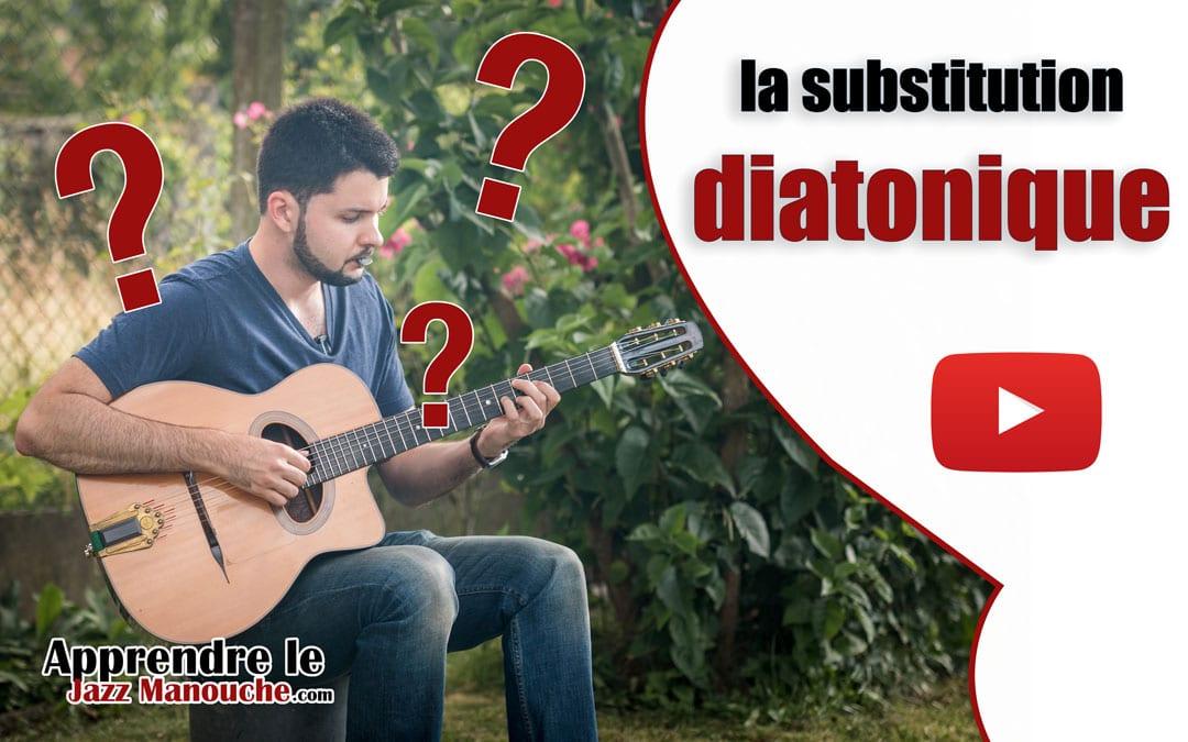 La substitution diatonique c'est quoi ?
