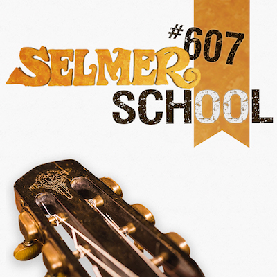 Selmer #607 School cours de guitare jazz manouche