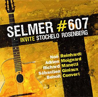 Selmer #607 invite Stochelo Rosenberg volume 2 - Jazz manouche