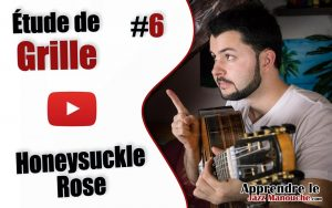 Étude de grille #6 - Honeysuckle Rose