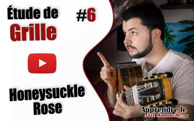 Étude de grille #6 – Honeysuckle Rose