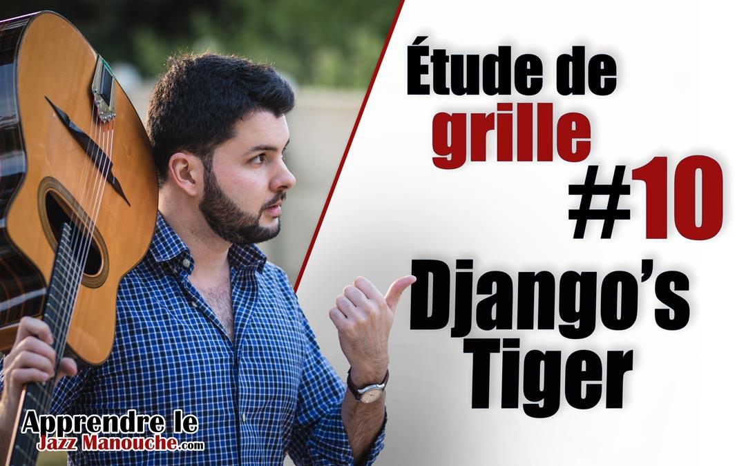 Étude de grille #10 – Django's Tiger (Django Reinhardt)