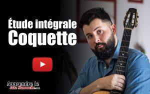 Étude intégrale - Coquette