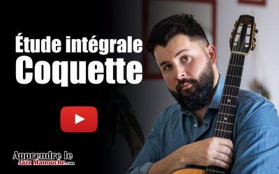 Étude intégrale – Coquette