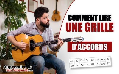 Comment lire une grille d'accords à la guitare