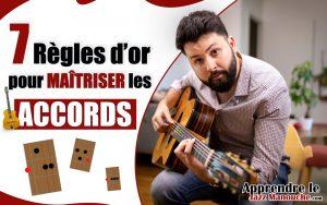 Les 7 règles d'or pour maîtriser LES ACCORDS en guitare jazz manouche