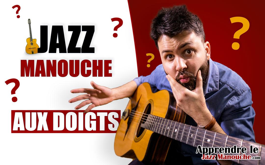 Peut-on jouer du jazz manouche AUX DOIGTS et sans médiator