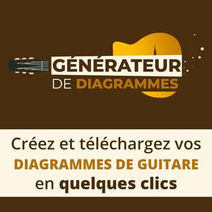Générateur de diagrammes pour la guitare